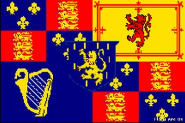 Royal Banner 1689 - 1702 William III